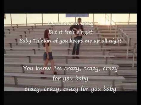 drive me crazy lyrics glee crazy you drive me crazy karaoke version with