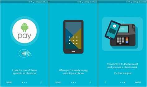 set up and use android pay on your phone
