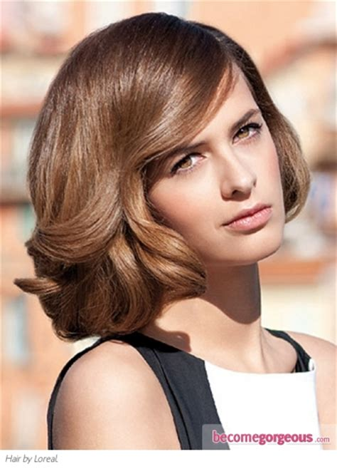above shoulder shag layered bob with bangs just above shoulder length no bangs long layers