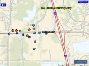map i 75 florida mapscoot map of i75 exit 213 parkway sarasota