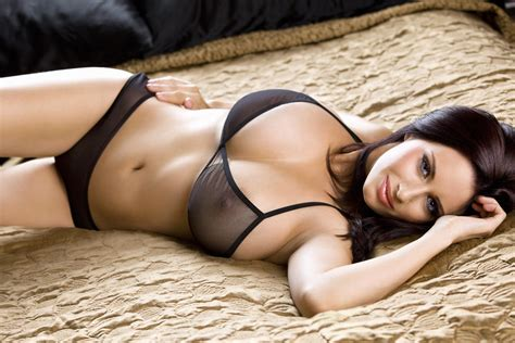sexy girl on bed bed sexy girl model breasts bra brunette shorts hd wallpaper