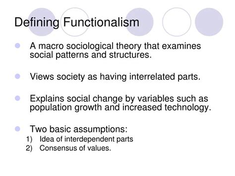 pattern variables merton ppt functionalism powerpoint presentation id 551272