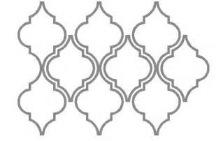 Wainscot Meaning Moroccan Stencils Printable Joy Studio Design Gallery