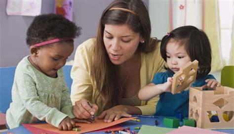 preschool or childcare center choosing a school