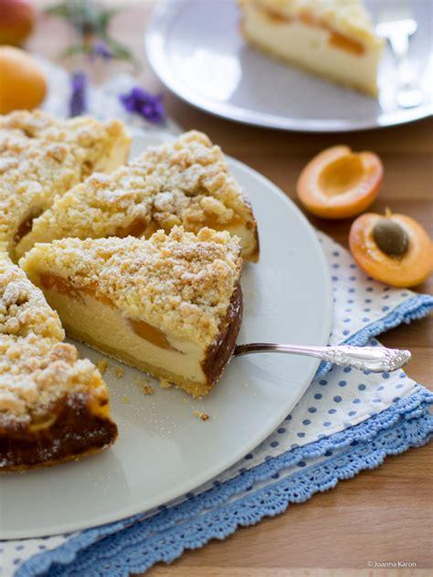 ricotta quark kuchen ricotta aprikosen kuchen mit knusprigen streuseln die