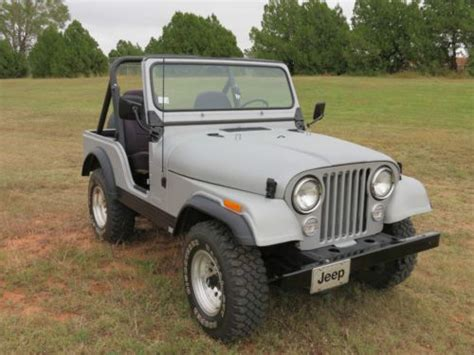 Jeep Accessories Okc Find Used 1982 Cj5 For Sale 85 Restored Line X Paint
