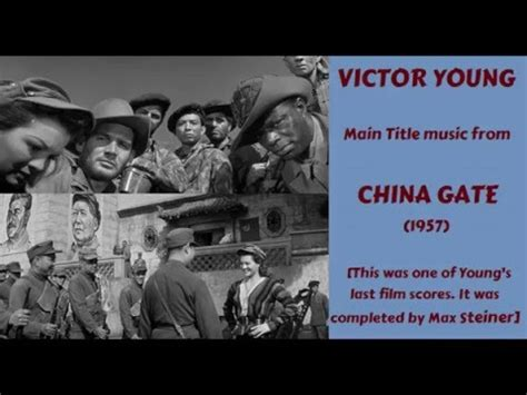 film china gate video songs victor young music from china gate 1957 youtube
