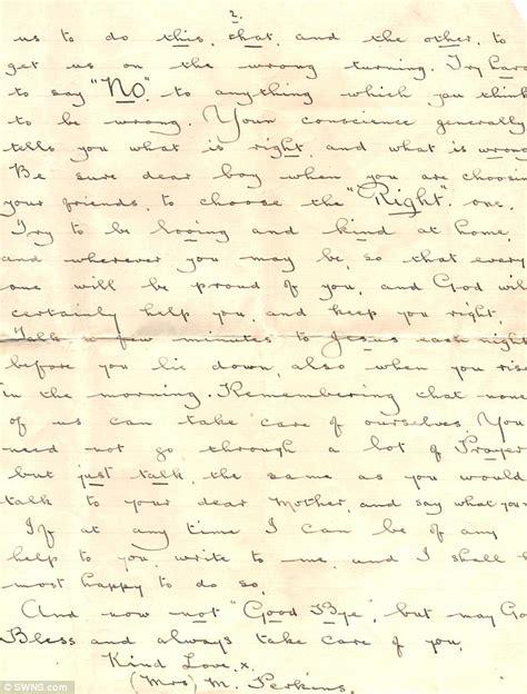 touching up letter boston pensioner douglas kettleboro s touching letter from