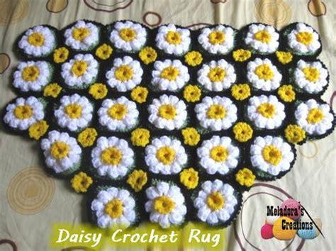 field of flowers crochet rug pattern crochet flower applique allfreecrochet