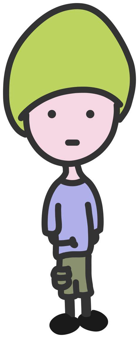 clipartist.net » Clip Art » quiet boy super duper SVG