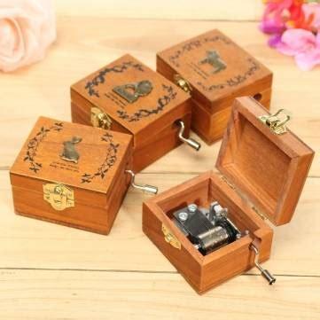 diy mini wooden drawers mini wooden novelty hand crank diy slide drawer box