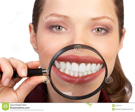 showing teeth healthy teeth stock images image 3135734