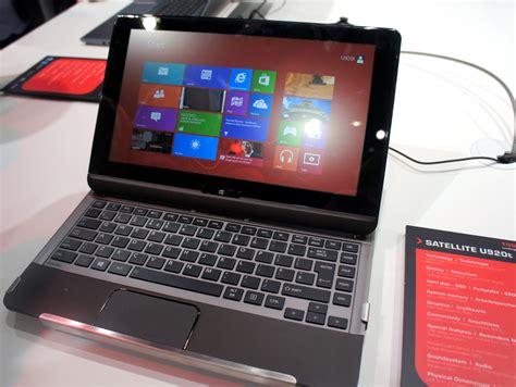 Harga Laptop Toshiba Yang Layarnya Bisa Dilepas toshiba siap kapalkan perangkat ultratab terbarunya