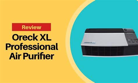 oreck xl professional air purifier review hovement