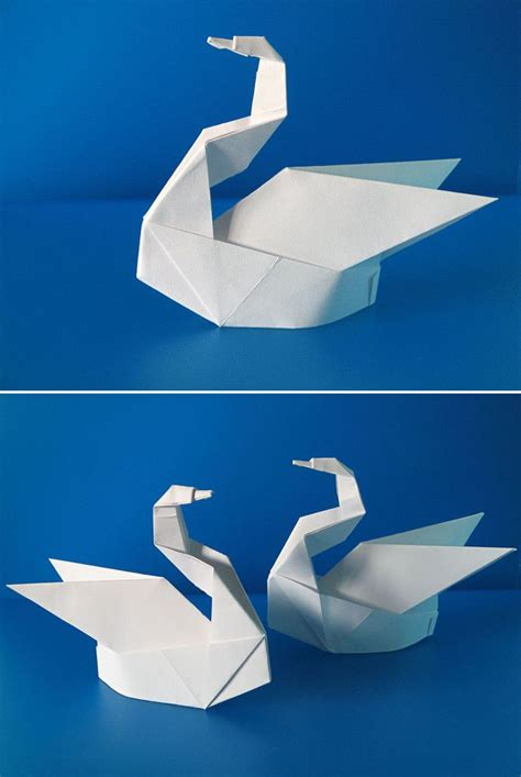 Make Paper Swan - 25 best ideas about origami swan on simple