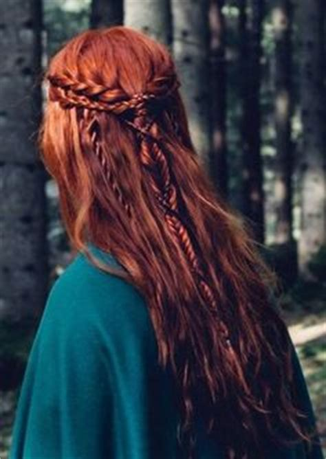 elvish hairstyles viking hairstyle with braids and really cool