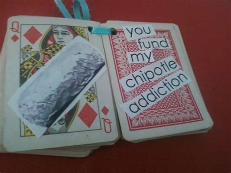 Reasons Why I Love You  C B A Playing Card Notebook