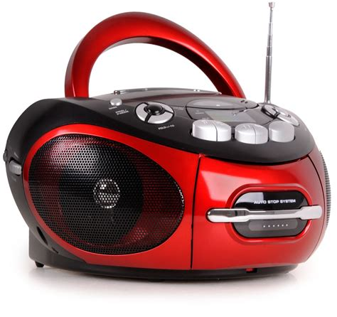 radio cassette cd portable cd player stereo cd radio cassette radio aux in