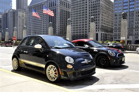 mf review fiat 500 abarth vs mini jcw coupe motoringfile