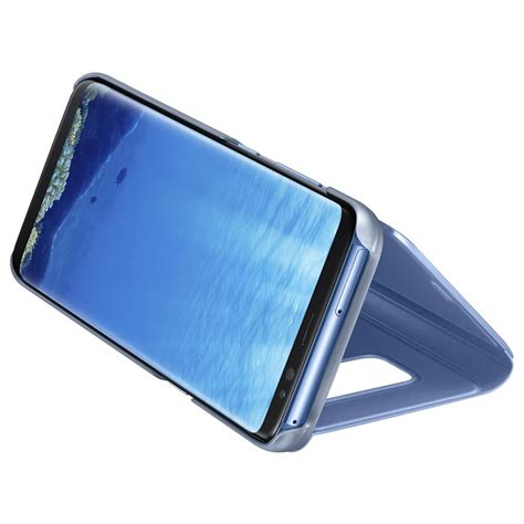 Original Samsung Galaxy S8 Clear View Stand Cover Silver samsung clear view stand cover кейс с поставка и видимост на информация за samsung galaxy s8