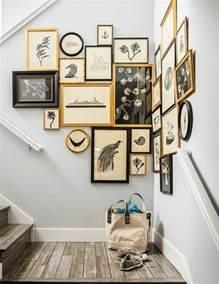 treppe dekorieren 50 fotowand ideen die ganz leicht nachzumachen sind