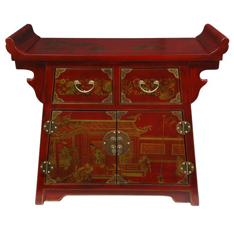 Altar Cabinet by Furniture Lacquer Altar Cabinet