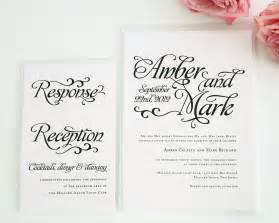 wedding invitations script font whimsical script wedding invitations wedding invitations