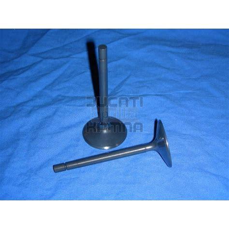 41mm titan auslassventil 2v 1000 ccm ducati aprilia
