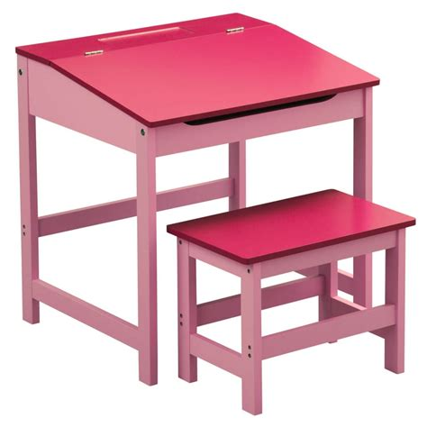 Furniture Antique Red Study Desk Chair Set For Kids Desk And Chair