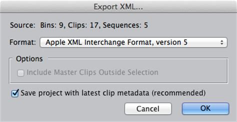adobe premiere pro xml export final cut pro에서 premiere pro로 프로젝트 마이그레이션 adobe premiere