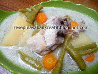 cara membuat opor ayam kuah putih resep opor ayam enak bumbu sederhana aneka resep masakan