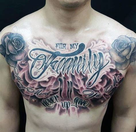 chest tattoos for men writing pin by amir anthony on tattoos chest