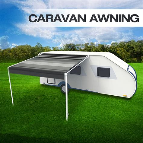Caravan Roll Out Awnings Prices by 13ft X 8 Ft Caravan Roll Out Awning Annex Aluminium