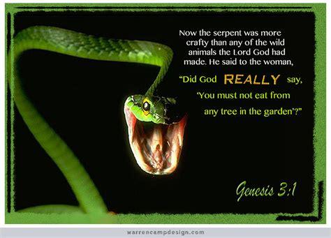 serpent in genesis 3 twelve new scripture pictures wallpaper size