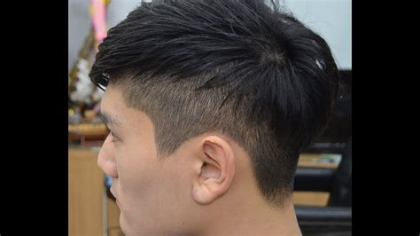 what is a block hair cut 남성 투블럭컷 two block haircut for men youtube