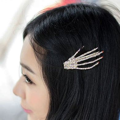 Set Of 2 Hair Clip skeleton hair set of 2 apollobox