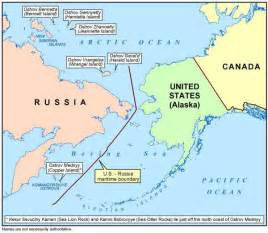 Map Of Usa And Russia by Alaskan Island Giveaway Factcheck Org