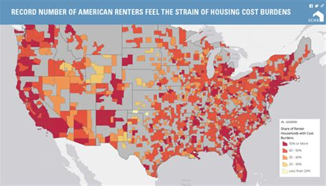 cheapest rent in usa 2016 the state of the nation s housing joint center for