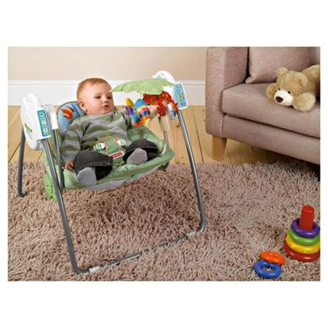 rainforest portable swing buy fisher price rainforest take along swing from our baby