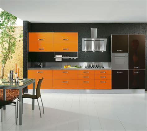 cucina arancione collezione arredamento cucina mix arancione arancio