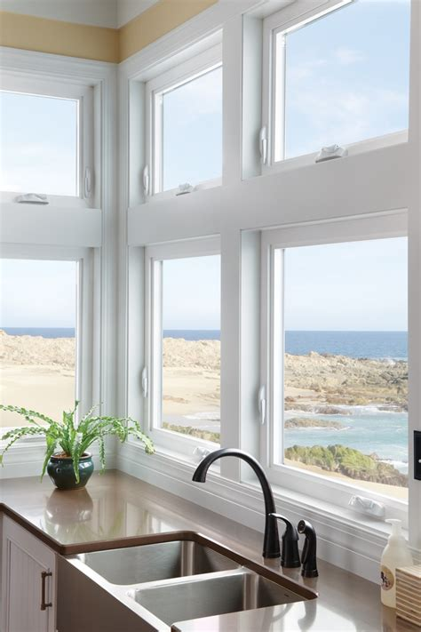 milgard awning windows awning over casement windows let in light and air milgard