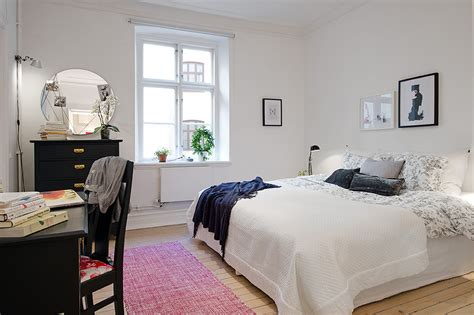 small apartment bedroom chic small apartment bedroom ideas with round mirror and