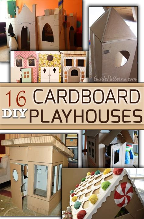 Playhouse Chandelier 16 Diy Cardboard Playhouses Guide Patterns