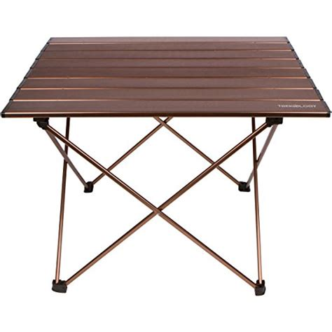 Best Portable Table by Trekology Cing Table With Aluminum Table Top