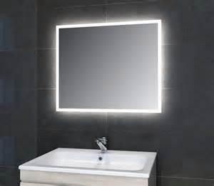 bathroom led mirrors adara led mirror modern bathroom mirrors yorkshire and the humber by pebble grey