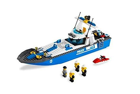 lego police boat games online lego police boat 7287 buy online in uae toy products