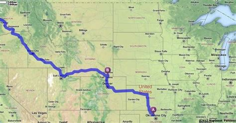 mapquest seattle wa driving directions from enid oklahoma to seattle