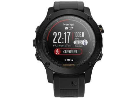 rugged smartwatch ironcloud rugged gps smartwatch now available from 369 gadgets tech news
