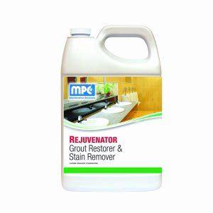 rejuvenator grout stain remover  gallon bottle rej mn