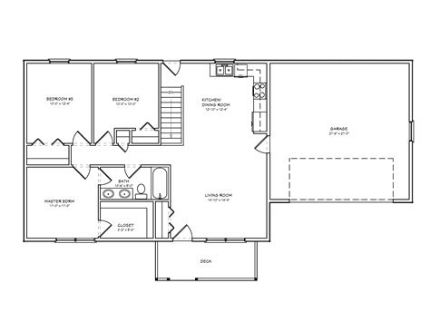 small house floor plans under 1000 sq ft